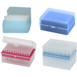 Końcówki 0 / 5 - 10 µl /   sterylne /  96 szt./ pudełko x 10
