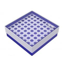 Pudełko KRIO /  8 x 8 /  z jednym wkładem /    130x130x45mm