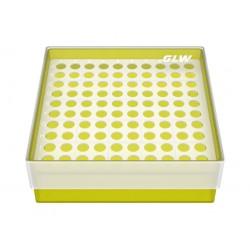Pudełko KRIO /  10 x 10 /   z jednym wkładem 130x130x45mm