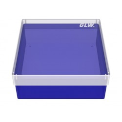 Pudełko KRIO / bez przegródek / bez otworów w dnie / 130x130x52mm