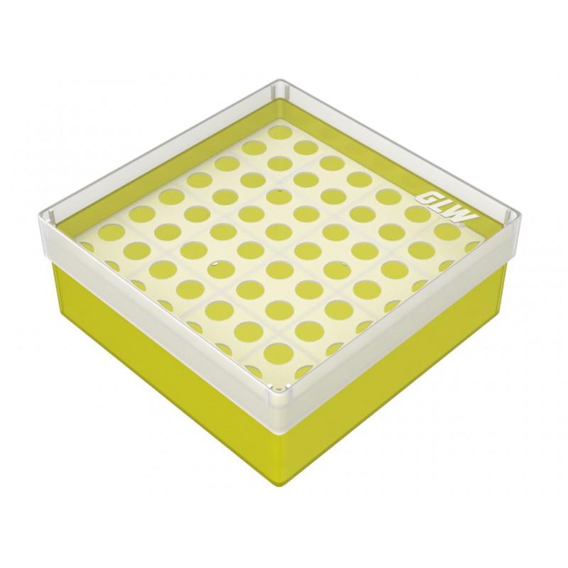 Pudełko KRIO /  8 x 8 /   z jednym wkładem /    130x130x52mm