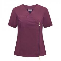 Bluza medyczna damska - na zamek