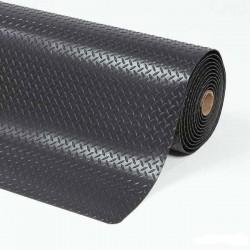Wykładzina przemysłowa, ergonomiczna, laminowana, 91 cm x 152 cm-kolor czarny