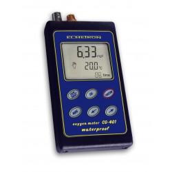CO-401- przenośny /  wodoszczelny z czujnikami tlenowym COG-1 i temperatury*