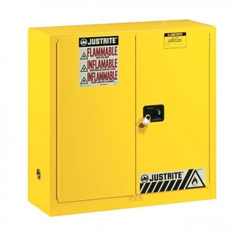 Szafa zabezpieczająca Uniwersalna G 114 l na materiały łatwopalne, zamknięcie ręczne