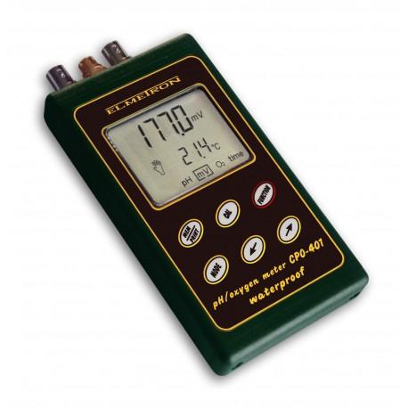 CPO-401 pH / mV/ tlenomierz przenośny z COG-1 /  EPS-1 i czujnikiem temperatury .*