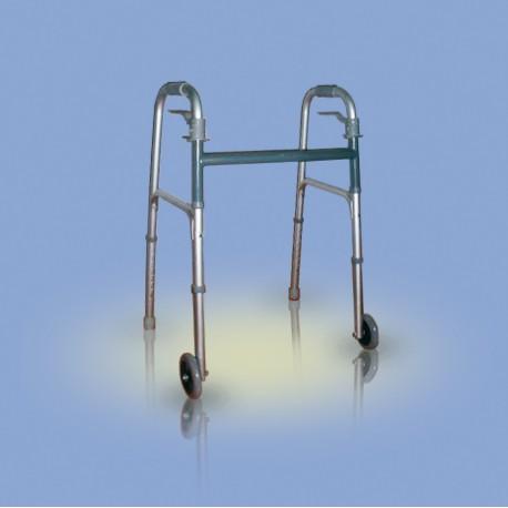 Balkonik aluminiowy /  składany /  dwukołowy