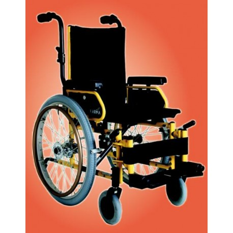 Wózek inwalidzki dziecięcy aluminiowy KARMA KM-7520