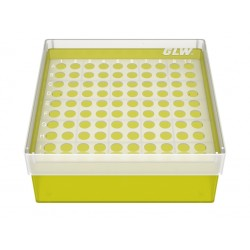 Pudełko KRIO /  10 x 10 /   z jednym wkładem 130x130x52mm