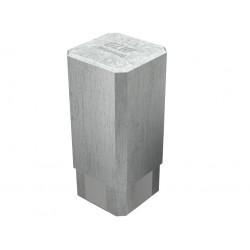 """Pojemnik na pipety /  kawadratowy z aluminium """"Economy"""" bez powłoki silikonowej 68 x 68 x 150 mm"""