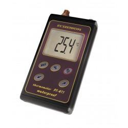 PT-411 wodoszczelny termometr z czujnikiem CT2S-121 /  na kablu 1m