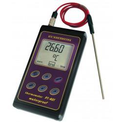 PT-401 wysoce dokładny wodoszczelny termometr z czujnikiem
